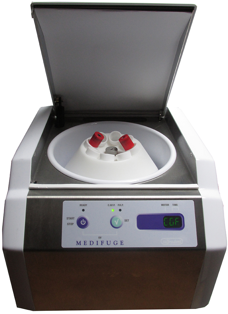 PRP Centrifuge with fixed-angle rotor