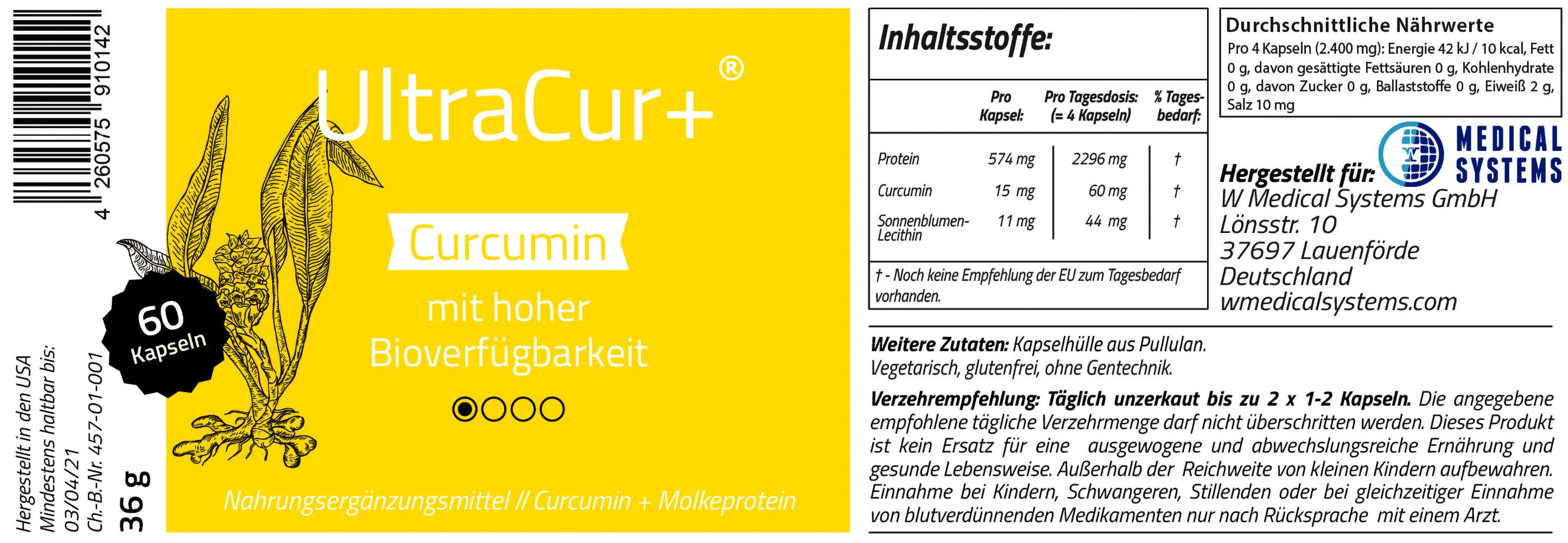 UltraCur+ 60 Kapseln