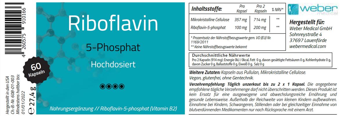 Riboflavin 5-Phosphat