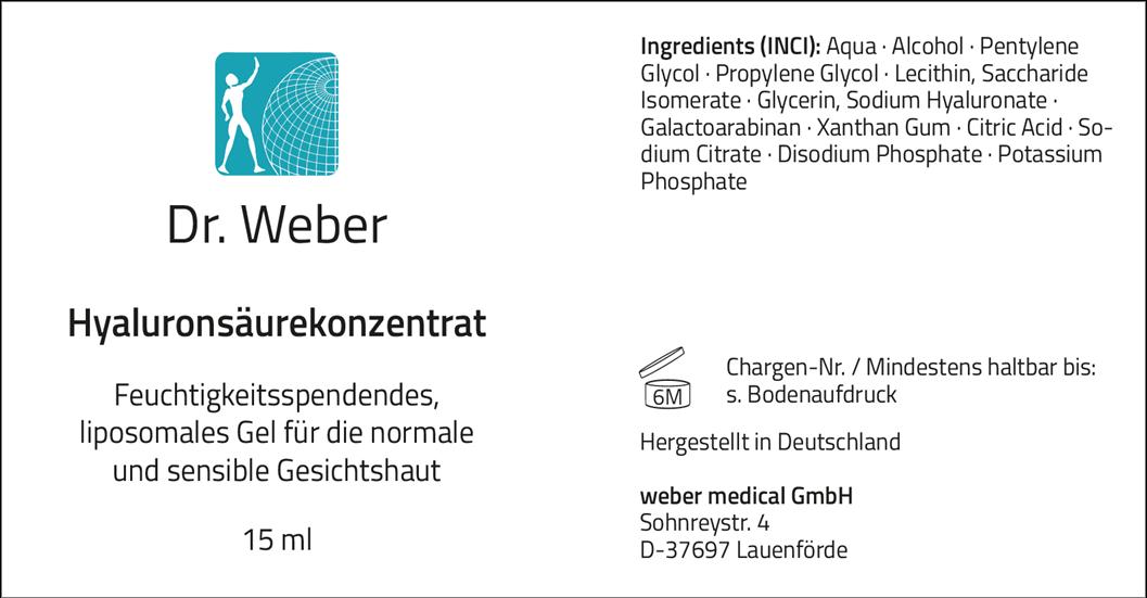 Dr. Weber Hyaluron-Serum 15 ml