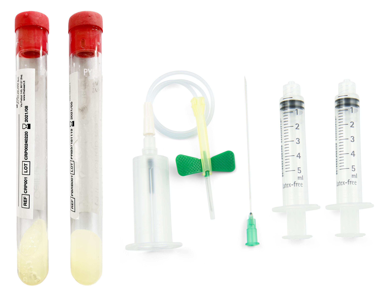 PRP Kit mit Röhrchen aus Pyrex® Glas 9 ml