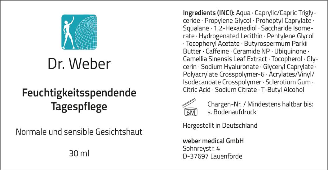 Dr. Weber Tagespflege 30 ml
