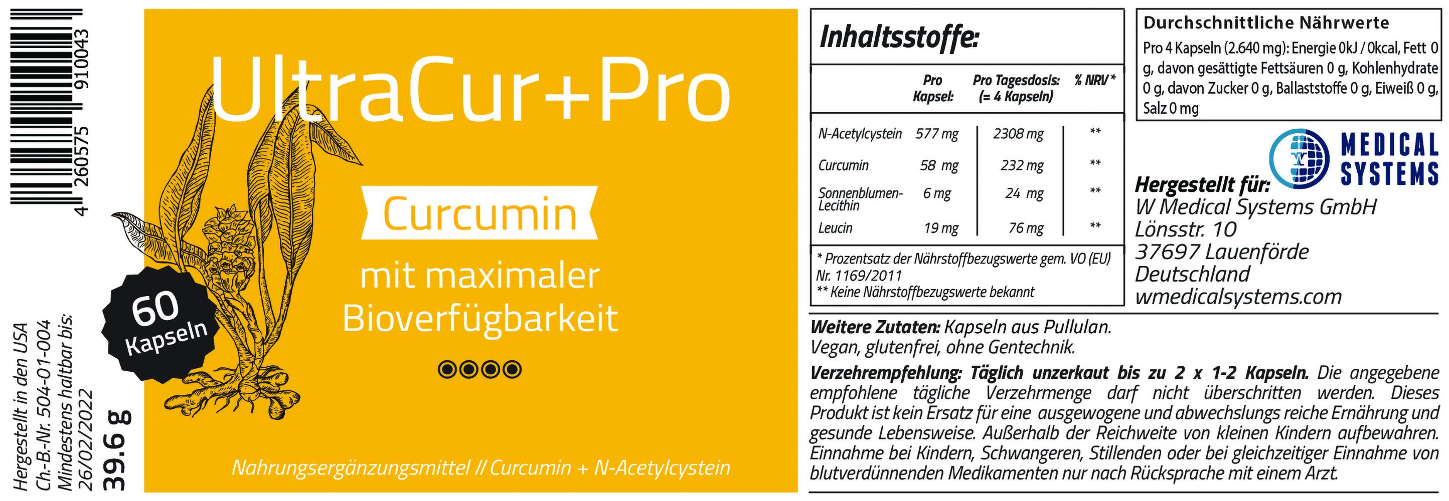 UltraCur+Pro 60 Kapseln